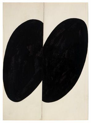 Ellsworth Kelly Black Forms, 1955 ink, graphite and collage on paper