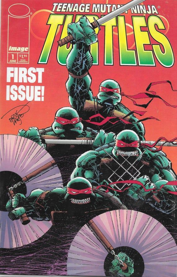 Teenage Mutant Ninja Turtles Adventures Reprints #1 VF 1989 Stock Image