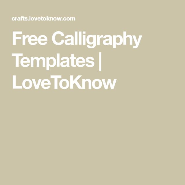 Best 25+ Calligraphy templates ideas on Pinterest Bullet journal - basic p amp amp l template