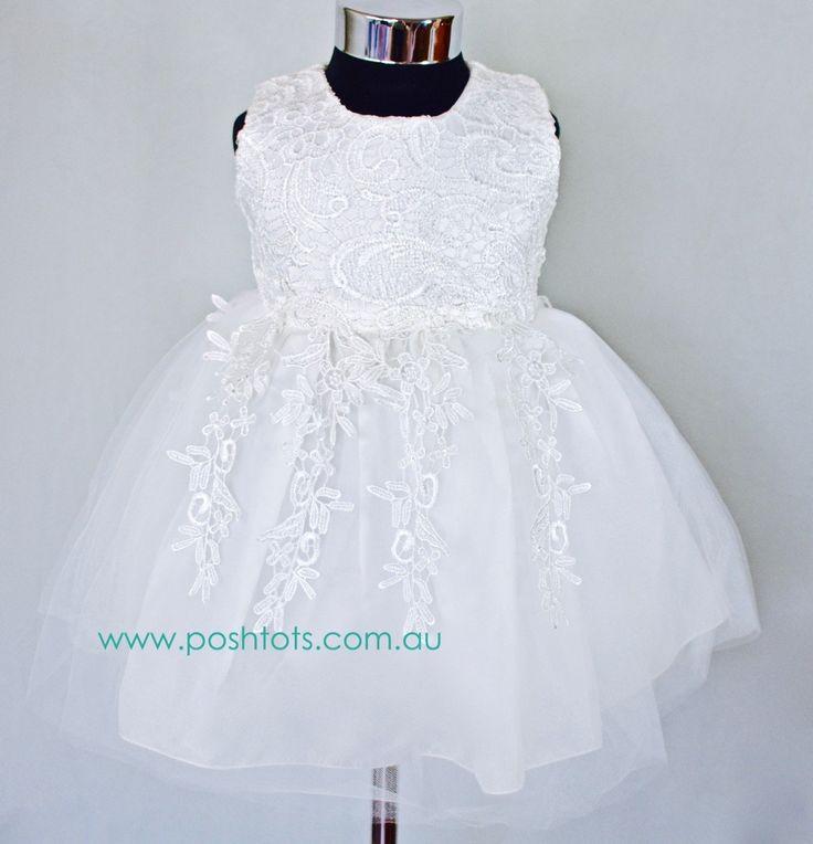 Charlotte baby dress sizes 00-2 www.poshtots.com.au