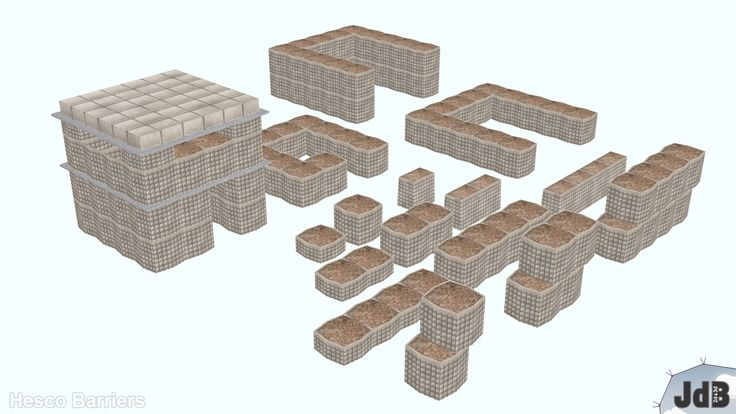 271 best hesco bastion  gabion type buildings images on pinterest