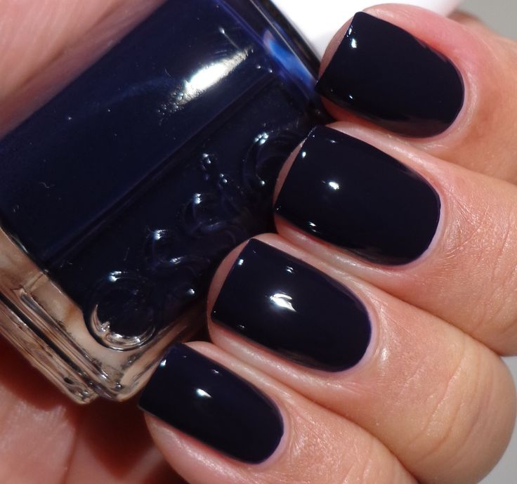 Best 25+ Dark Blue Nails Ideas On Pinterest
