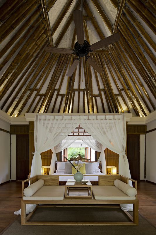 chambre principale - Bamboo-Villa par C&C-Design - Guangdong, Chine