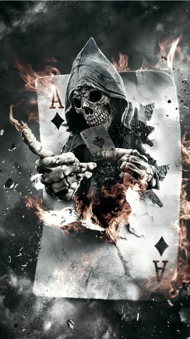 Iam Bad Boy Scary Wallpaper Skull Wallpaper Black Skulls Wallpaper