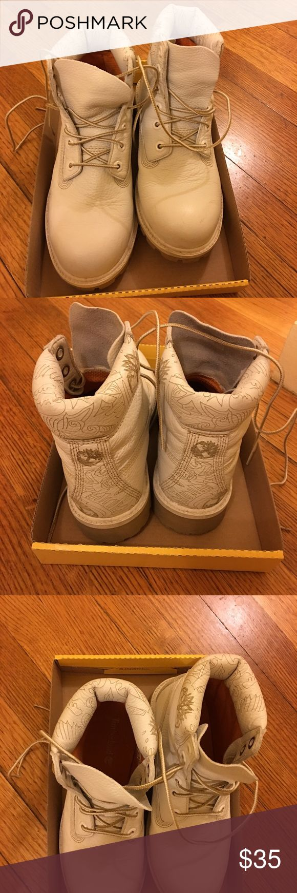 Timberland boots White boots Timberland Shoes Lace Up Boots