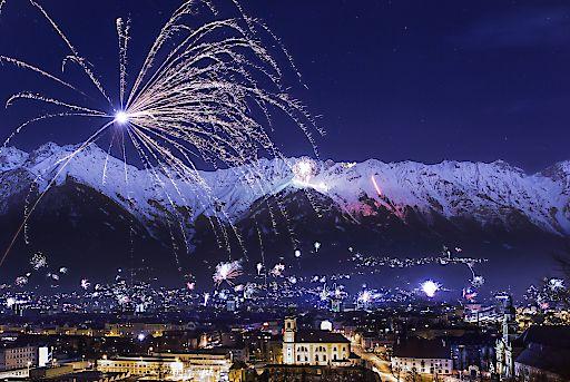 Silvester in Innsbruck: Ein Feuerwerk an Möglichkeiten zum Jahreswechsel!