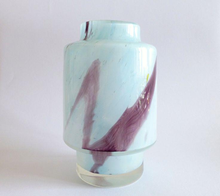Vase, 1970s, glassworks Prachen, H: 21,0 cm