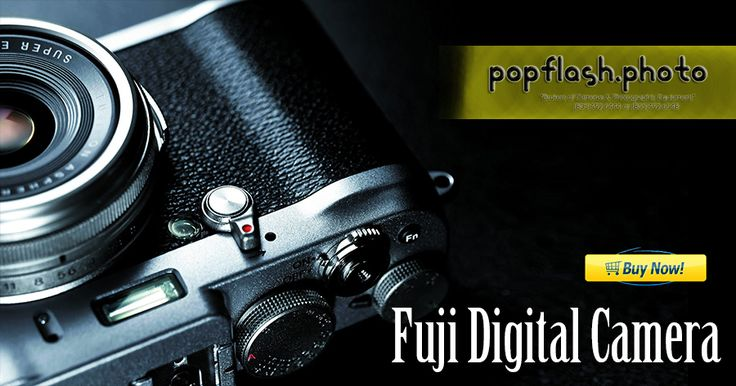 Choosing a professional and highly advanced Fuji Digital Camera is an essential requirement. Rather than spending a good amount of money in purchasing new #BuyFujiDigitalCamera at Popflash Photo