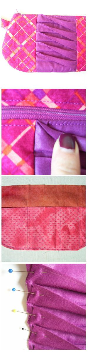 Twisted Tuck Wristlet tutorial by mahlicadesigns, https://mahlicadesigns.wordpress.com/2015/10/30/twisted-tuck-wristlet-tutorial/