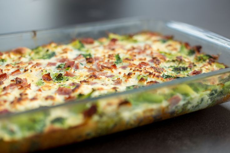 Συνταγή: Τάρτα με μπρόκολο και ζαμπόν, χωρίς ζύμη « Συνταγές με κέφι