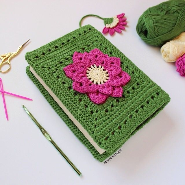 Book Cover Free Crochet Pattern ~ Best crochet book cover ideas on pinterest