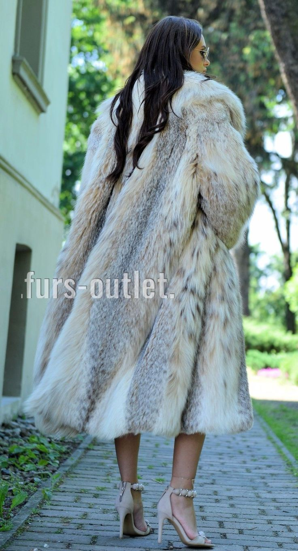 NEW LYNX LONG FUR COAT CLASS JACKET MINK FOX CHINCHILLA VEST RUSSIAN SABLE CITES in Clothes, Shoes & Accessories, Women's Clothing, Coats & Jackets   eBay