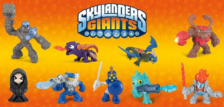Toys From Mcdonald S Happy Meals : Skylanders giants happy meal toys