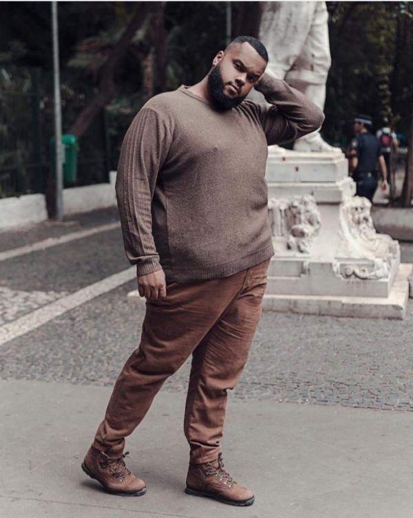 pantalon grande taille homme