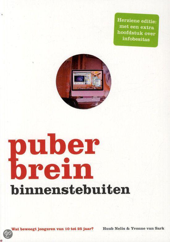 BOEKENTIP KOPEN Puberbrein binnenstebuiten | Huub Nelis en Yvonne van Sark