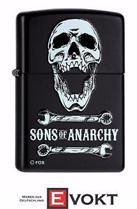 sons of anarchy zippo lighters   Zippo-Sons-Of-Anarchy-Storm-Lighter-Black-Matte-Genuine-New-Best-Gift