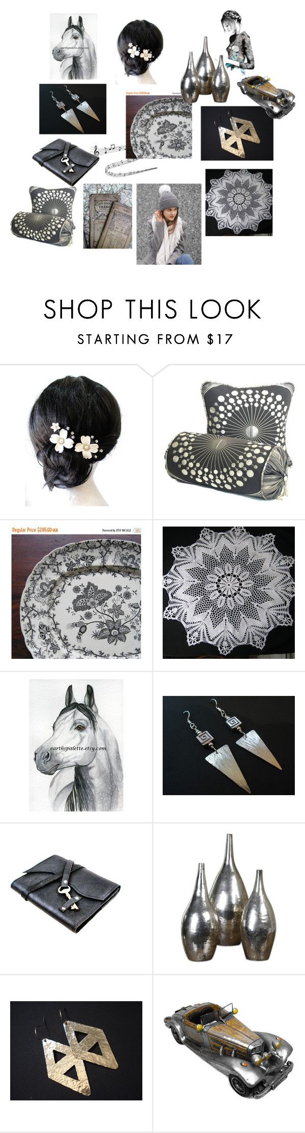 Grey Gardens by anna-recycle on Polyvore featuring Uttermost, modern, rustic and vintage