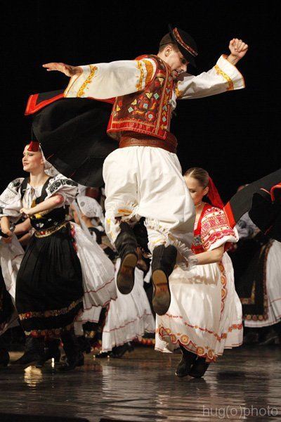 "Slovak Detva - also known as ""the bare belly costume"""