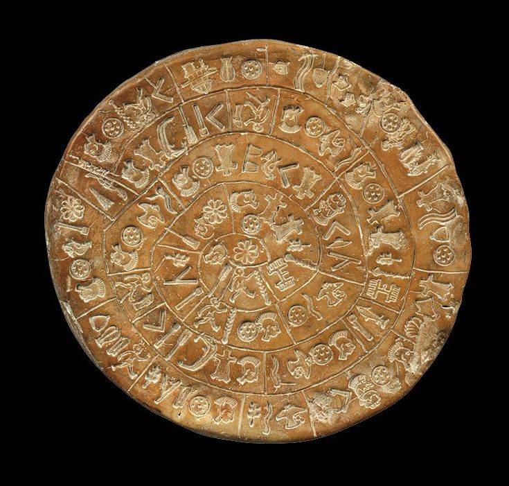 The Phaistos disc, the most famous Minoan clay disc in Linear B script from the Bronze Age, is a hymn to the pregnant deity and goddess Aphaia, says Gareth Owens