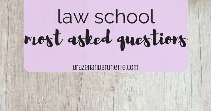 Law school questions. How boring is law school? How hard are law school tests? Feeling overwhelmed in law school? When to study for the LSAT? How to study for the LSAT? What GPA do you need for law school? What are my chances of getting into law school? Is where you go to law school important? Does study abroad help you get into law school? Can you go to law school if you went to a junior college? How much do law school books cost? What classes should I take in law school? What school…
