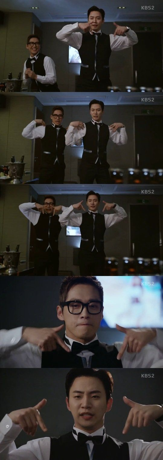 "[Spoiler] ""Chief Kim"" Namgoong Min and Junho imitate Twice ""TT"" @ HanCinema :: The Korean Movie and Drama Database"