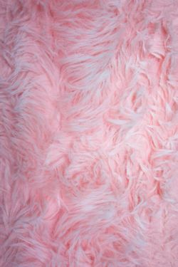 Perfect Pink Fuzzy Rug
