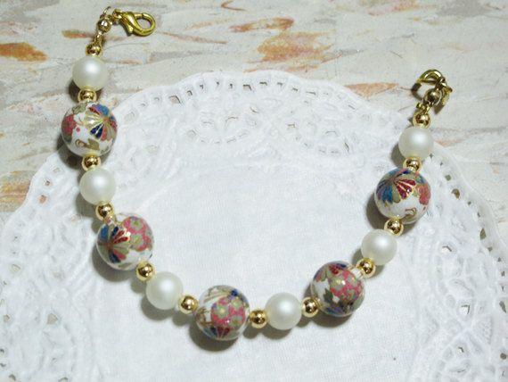 Japanese Pinwheel bracelet