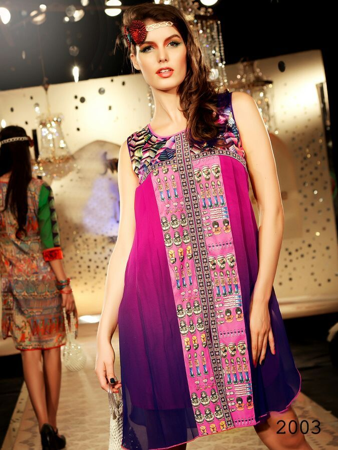 Stylish Long Cut Cotton Kurti