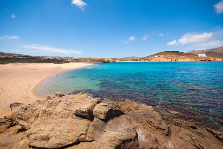 A day of privacy and calmness under the sun in any of the Top 5 secluded #beaches of #Mykonos!