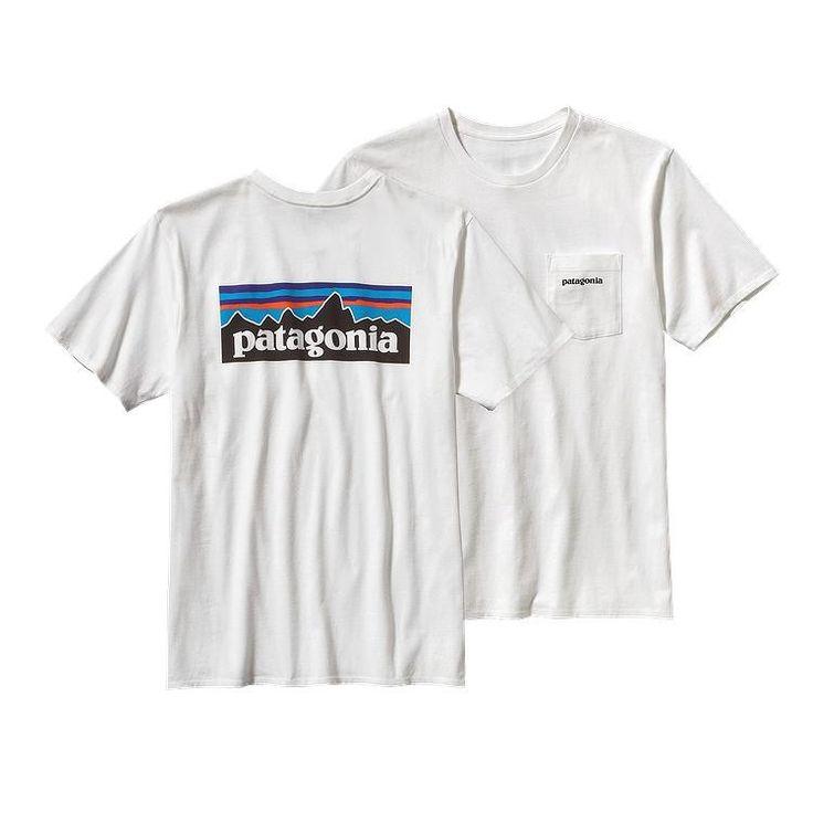 Patagonia Men's P-6 Logo Pocket T-Shirt