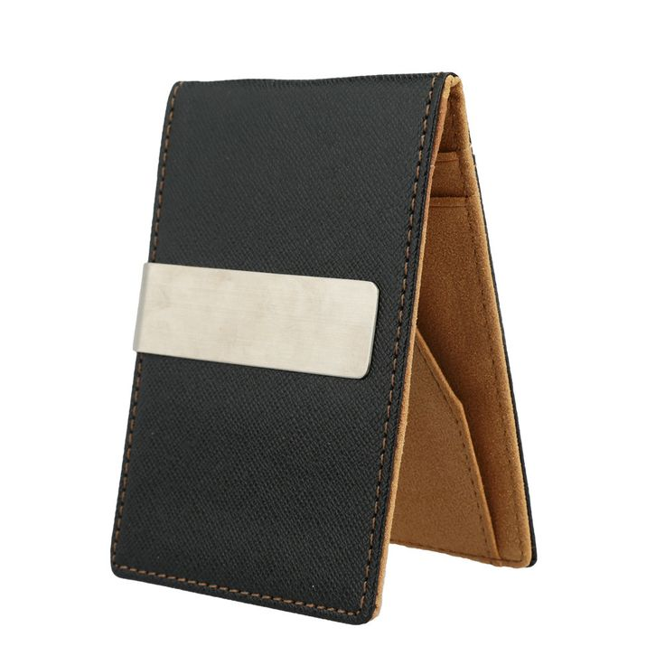 Slim Fluorescence Money Clip Wallet