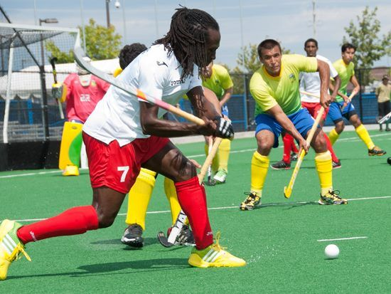 Pan American Cup has started. Here is an interesting action Photo by Chris Teixeira of Pan American Hockey Federation. #Hockey, #FieldHockey https://www.facebook.com/IndianHockey.Stick2Hockey