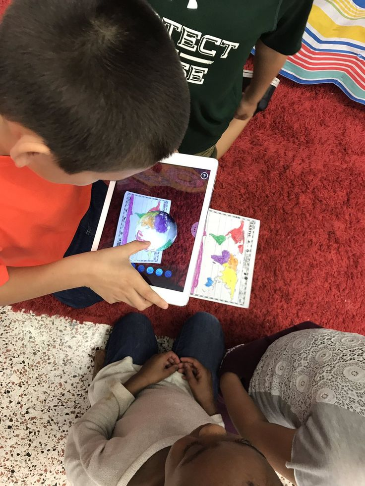 """Nicole Pfister on Twitter: """"2nd grade #fisherflamingos Ss highly engaged identifying continents w @quivervision! Making connections from map to 3D globe! @RPS_Schools https://t.co/R2iwt3U9Ed"""""""