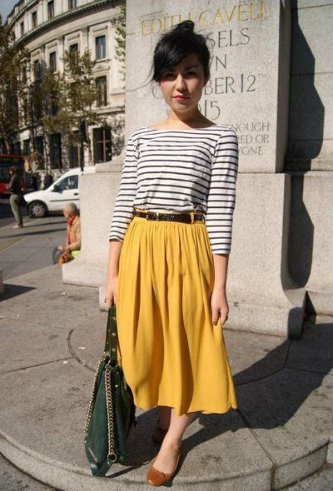 Como Usar: Saia Midi – #Como #fashion #midi #Saia …