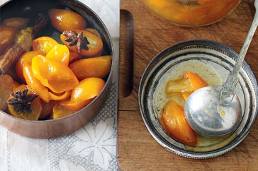 Cumquat preserve with star anise and chilli   With a hint of chilli and aniseed, this sticky citrus cumquat conserve is delicious with roast duck. http://www.taste.com.au/recipes/27539/cumquat+preserve+with+star+anise+and+chilli