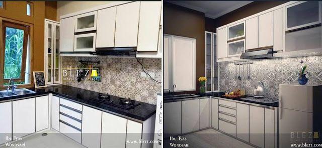 INTERIOR JOGJA by Blezt Interior, perbandingan hasil kerja 3D designVs Realwork, sebagai acuan anda sebelum menggunakan jasa interior di Jogja