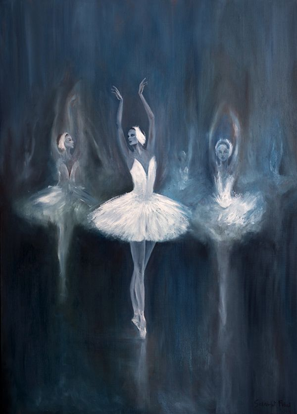 Emphasis~ This piece shows emphasis because it has a main focal point that is made clear to the observer. Due to the bright colors of this focal point among the dark and blurry background, the center ballerina is the emphasis.