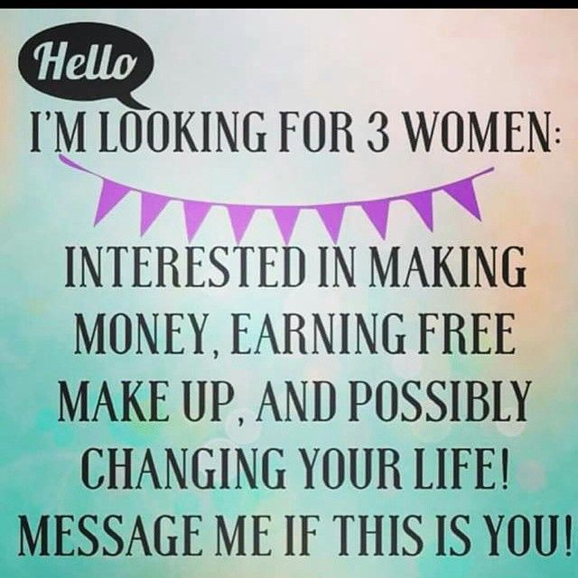 I am looking to help a few ladies earn an extra income right from your very own home! It's only $99USD/$119CAD to join and you get an amazing presenters kit to start you off!! Get paid to play with makeup and taking selfies!! Join me on this amazing journey to financial freedom!! Shoot me a msg or go to the link in my bio to join!