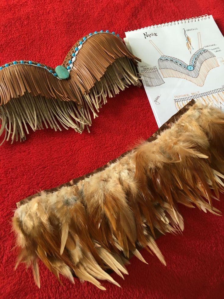 Native rave bra by sweet Yukari! EDC, Ultra (UMF), tomorrowland outfit (costume)