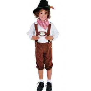 Déguisement pantalon tyrolien enfant deluxe