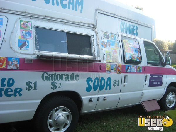 Ford Ice Cream Truck For Sale In Florida Ice Cream Truck Trucks For Sale Food Truck For Sale