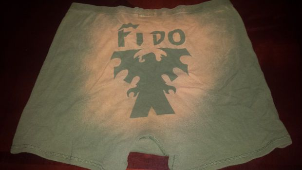 Homemade bleached T-shirts