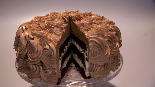 Chocolade-rozentaart - with creme au burre | Rudolph's Bakery | 24Kitchen | Creme au beurre