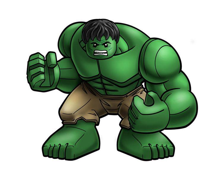 Avengers Lego - HULK by *RobKing21 on deviantART
