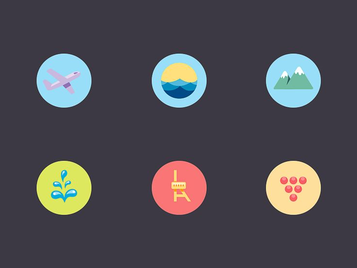 Map Icons by Nick Kumbari