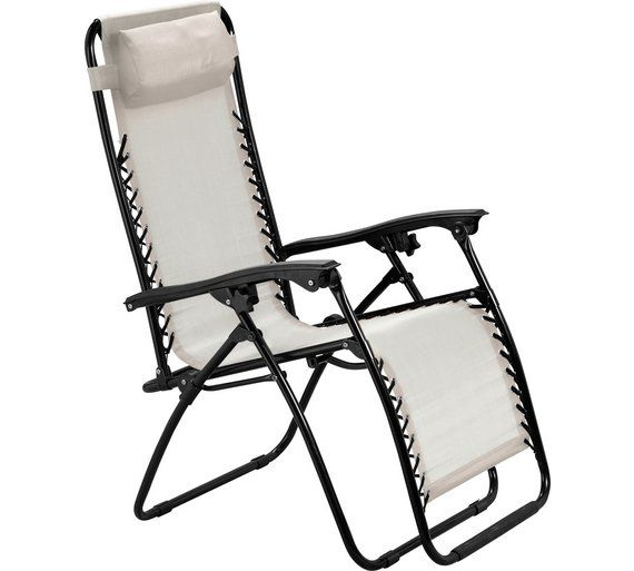 Buy HOME Cream Reclining Sun Loungers - Set of 2 at Argos.co.uk  sc 1 st  Pinterest & ???? ??? 25 ????????? ????? ??? Reclining Sun Lounger ??? Pinterest islam-shia.org