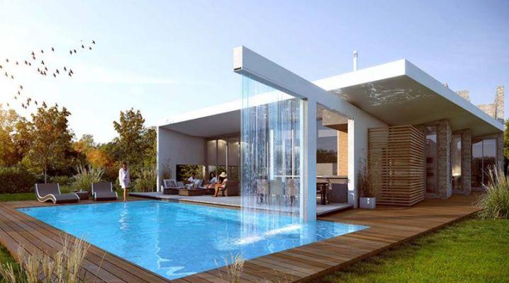 Maison design piscine