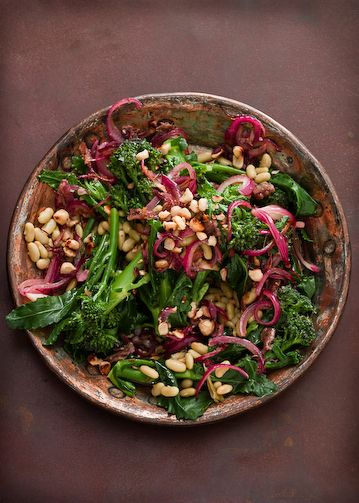 // bean broccollini salad