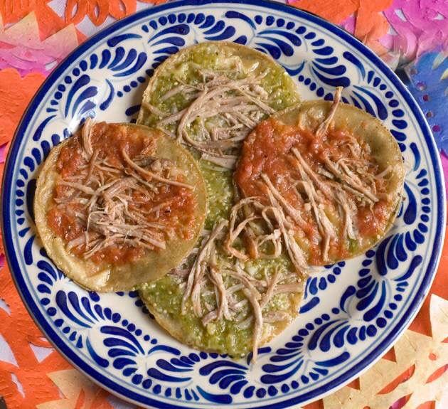 Chalupitas mexicanas (estado de Puebla), antojito mexicano