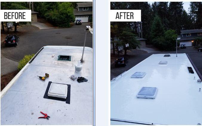Pin On Rv Roof Sealant